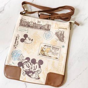 Disney Parks Authentic Original Crossbody Bag